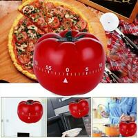 Tomato Mechanical Kitchen Timer Game Count Down Counter Alarm Cooking Tool