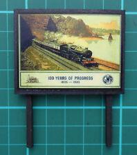 Advertising Hoarding (100 Years of GWR Progress)