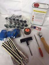 Basic 3mm Puncture Repair Start Up Kit With Free Flap Wheel Tyre Changer/Balance