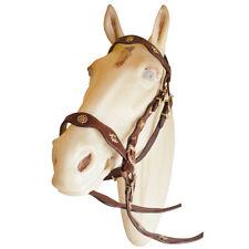 Spanish Portuguese Baroque Leather Horse Bridle by Marjoman, cob Size