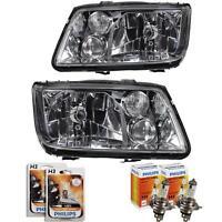 Scheinwerfer Set Satz VW Bora Typ 1J Bj. 10.98 - 09.05 H4+H3+Nebel+Philips