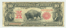 $10 Series 1901 Bison United States Note early Fr. 114 signatures- nice looking!