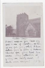 Rppc,Great Limber,U.K.St.Peter's Church,Lincolnshire,Used, Brocklesby,1903