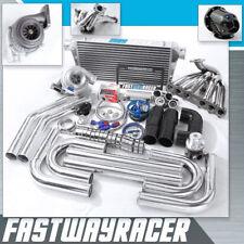 Chaser Soarer Supra JZA70 MKIII 1JZ-GTE 1JZGTE GT35 T4 Turbo Kit .68AR 3'' Pipe