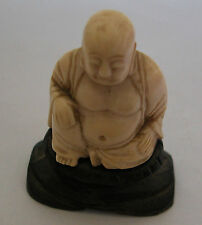 A LOVELY HAND CARVED FROM INDIA STATUE OF BUDDHA (AR 38)
