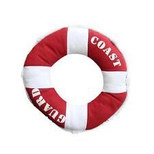 40cm Excellent Texture Cotton Life Buoy Coast Guard Soft Pillow Cushion Red