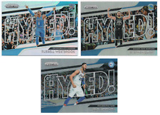2018-19 Panini Prizm Get Hyped! Silver Refractors Pick Any Complete Your Set