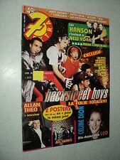 7 EXTRA 98/16 (15/4/98) BACKSTREET BOYS HANSON CELINE DION ALL SAINTS ALLAN THEO