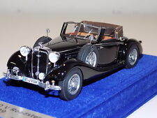 1/43 Looksmart Horch 930 V Roadtser 1939 Black Alcantara Base LS432