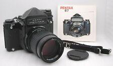 [Near Mint] PENTAX 6x7 TTL Mirror Up + smc PENTAX 67 165mm F/2.8 MF From Japan