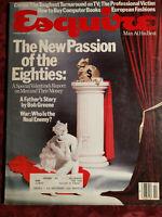 ESQUIRE February 1984 MEN AND MONEY ITALO CALVINO Bob Greene Max Apple +++