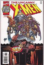 UNCANNY X-MEN #383 / DOUBLE SIZED ISSUE / 2000 / CLAREMONT / ADAM KUBERT