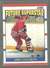 1990-91 Score #440 Eric Lindros RC (ref 74407)