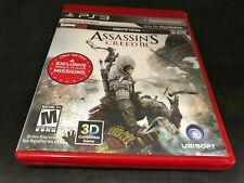 PS3 VIDEO GAME ASSASSIN'S CREED III PS3 VIDEO GAME WITH MANUAL