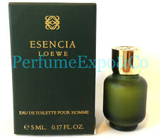 ESENCIA LOEWE Pour Homme 5ml EDT SPLASH MINI Cologne Men DISCONTINUED (C68 BB07