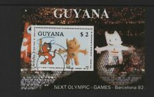 GUYANA 1988 OLYMPIC GAMES, BARCELONA '92 M/SHEET *FINE USED/CTO*