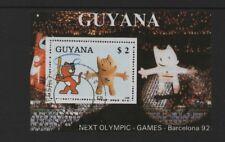 GUYANA 1988 OLYMPIC GAMES, BARCELONA '92 *FINE USED/CTO*