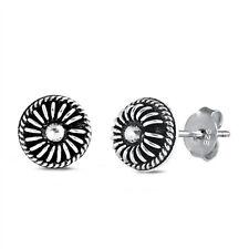 Unique Bali Stud 925 Sterling Silver Post Children Women Earrings