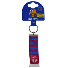 FC Barcelona Official Fabric Bar Scarf Keyring Brand New