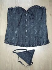 Corsetti , bustini e guêpiere da donna neri glamour seta