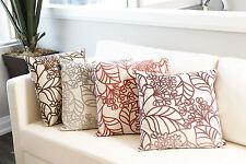Flato Spring Bloom Decorative Sofa Bed Square Cushion Pillow
