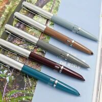 Wing Sung 601 Vacumatic Two Blue Pearls Fountain Pen Updated Version Piston Type