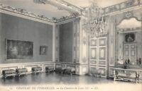 Château de VERSAILLES - la chambre de Louis XV
