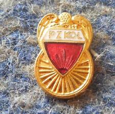 POLAND FEDERATION CYCLING 1980's ENAMEL PIN BADGE