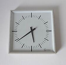 pendule / horloge Brillié vintage deco années 60 70 design 1970 métal