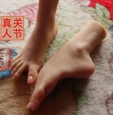 xz37 angry feet 3D silicone love girls foot Arbitrary posture