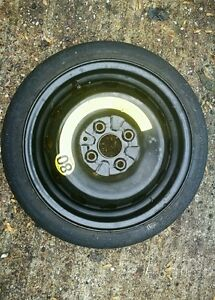 """TOYOTA AYGO 2005-2020 SPACE SAVER 14"""" SPARE WHEEL & TYRE FREE FAST DELIVERY"""