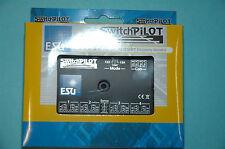 ESU 51820 SwitchPilot 2.0 4 Fach Magnetartikedecoder + 2 X Servo DCC/MM NEU