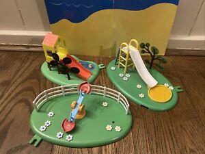 Peppa Pig park / playground Treehouse slide & Seesaw + Slide  playset -lots List