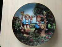 Hummel 1991 Vintage Collector Plate Danbury Mint Apple Tree Boy & Girl