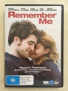 REMEMBER ME (DVD R4 2010) EXC Pattinson Brosnan De Ravin Cooper Romance Tragedy