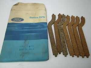 65-71 Ford Mercury 260 289 302 Intake Manifold Front Seal Lot of 7 D1OZ-9A424-A