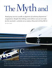 2005 Maserati MC12 - Original Car Print Article J233