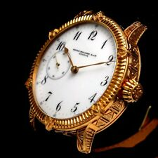Vintage Mens Wristwatch PATEK PHILIPPE Mechanical Swiss Gold Men's Wrist Watch