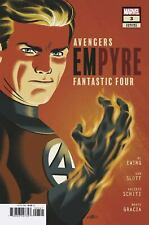 EMPYRE #3 COVER D VARIANT MICHAEL CHO FANTASTIC FOUR COVER
