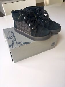 Boys Marvel Black Panther Boots by Clarks - UK Size 9 (juniors)
