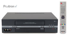 6-testa VHS Video Recorder con FB, videoregistratore aspettato +, 1 ANNO DI GARANZIA +
