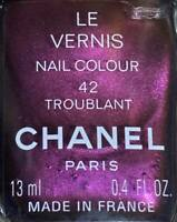 Chanel nail polish 42 TROUBLANT rare limited edition VINTAGE