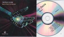 TANTRUM DESIRE REACH [PUSH THE FEELING] RARE 5 TRACK PROMO CD [DUBSTEP]