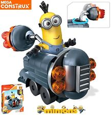 Despicable Me 3 Gru's Mini Vehicle Minions Gift Toy for Kids By Mega Bloks 69pcs