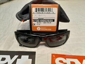Spy Optic Bowery Polarized Sunglasses Black Frame/ Grey Polarized Lens