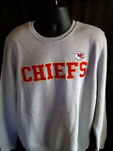 Kansas City Chiefs NFL Men's G-III Embroidered Crew Neck Sweatshirt XL