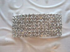 "used as a Brooch or Pendant *Brilliant* 2 3/4 "" *Crystal Rhinestone* (can be"