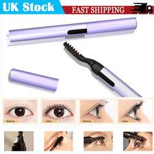 1PCS Portable Brush Eyelash Curler Heating Longer Makeup Electric Eyelash Curler