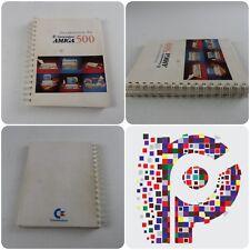 Introducción a la Commodore Amiga 500 Libro Manual