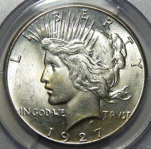 1927 PCGS MS64 PEACE DOLLAR